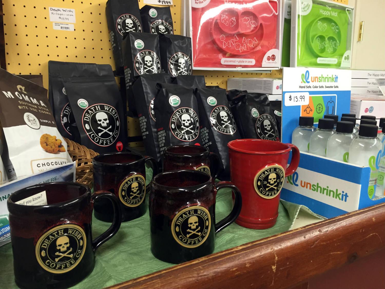 Death Wish Coffee at Vidler's in East Aurora, New York