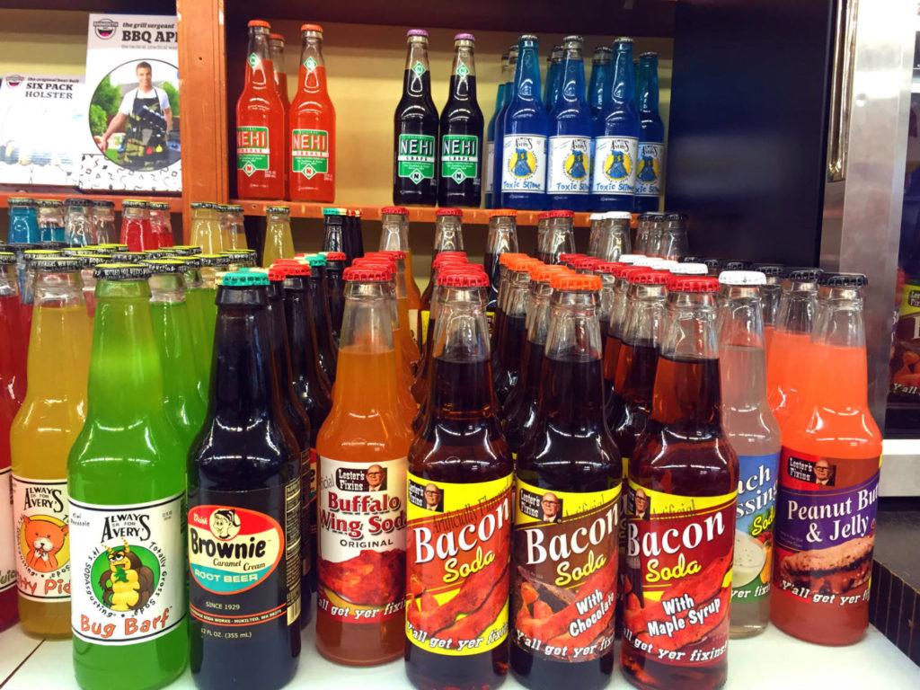 Sodas at Vidler's in East Aurora, New York