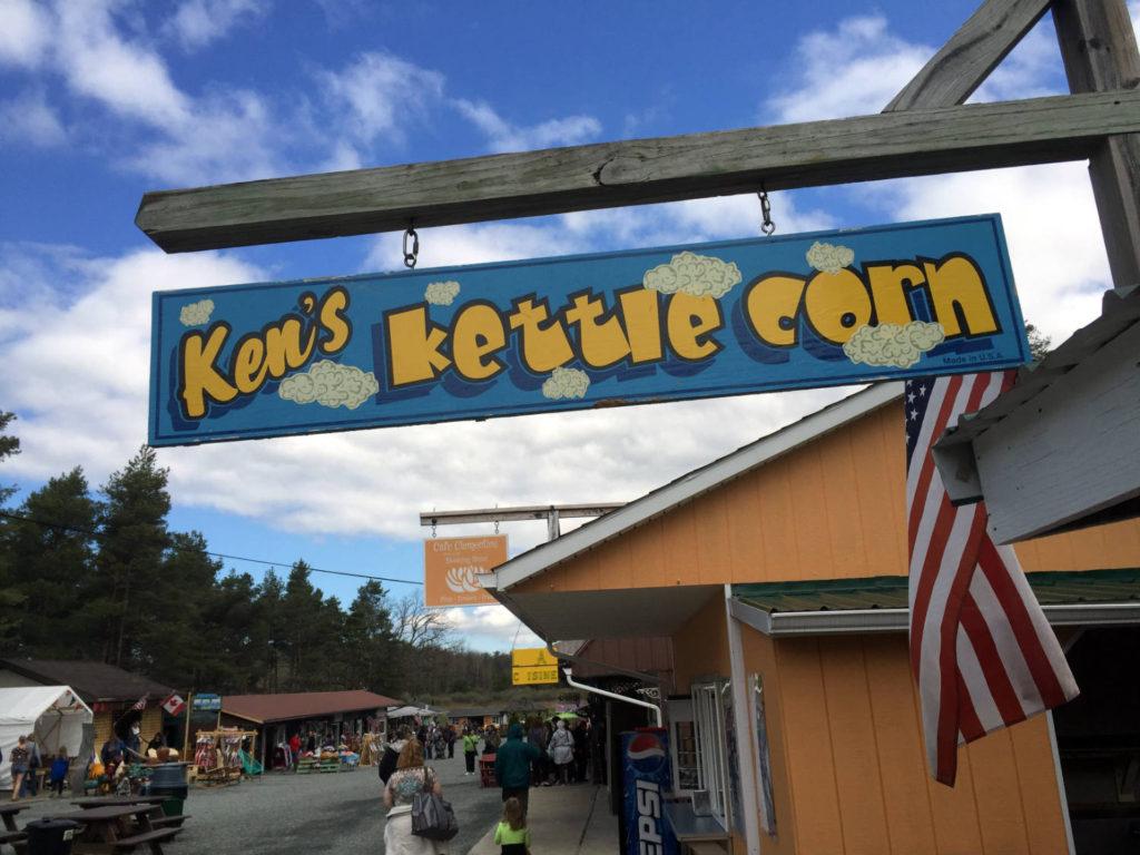 Ken's Kettle Corn at The Windmill in Penn Yan, New York