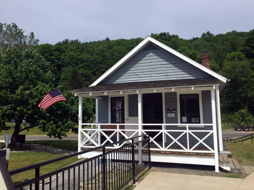 Toll House on Delaware River