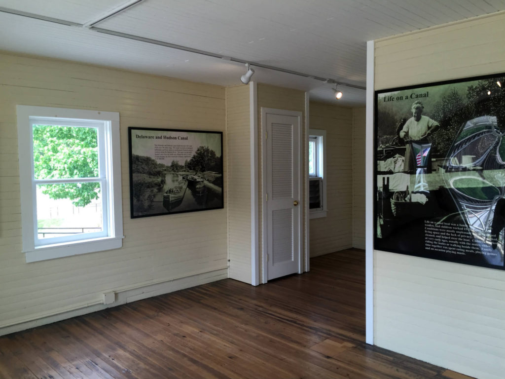 Inside the Toll House on Delaware River