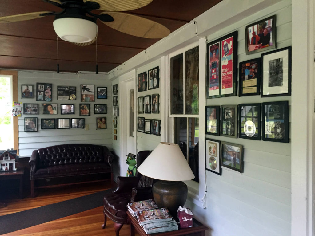 Wall of Fame at Lazy Pond Bed and Breakfast