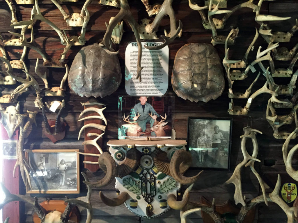 Exhibit at the Antler Shed in West Valley