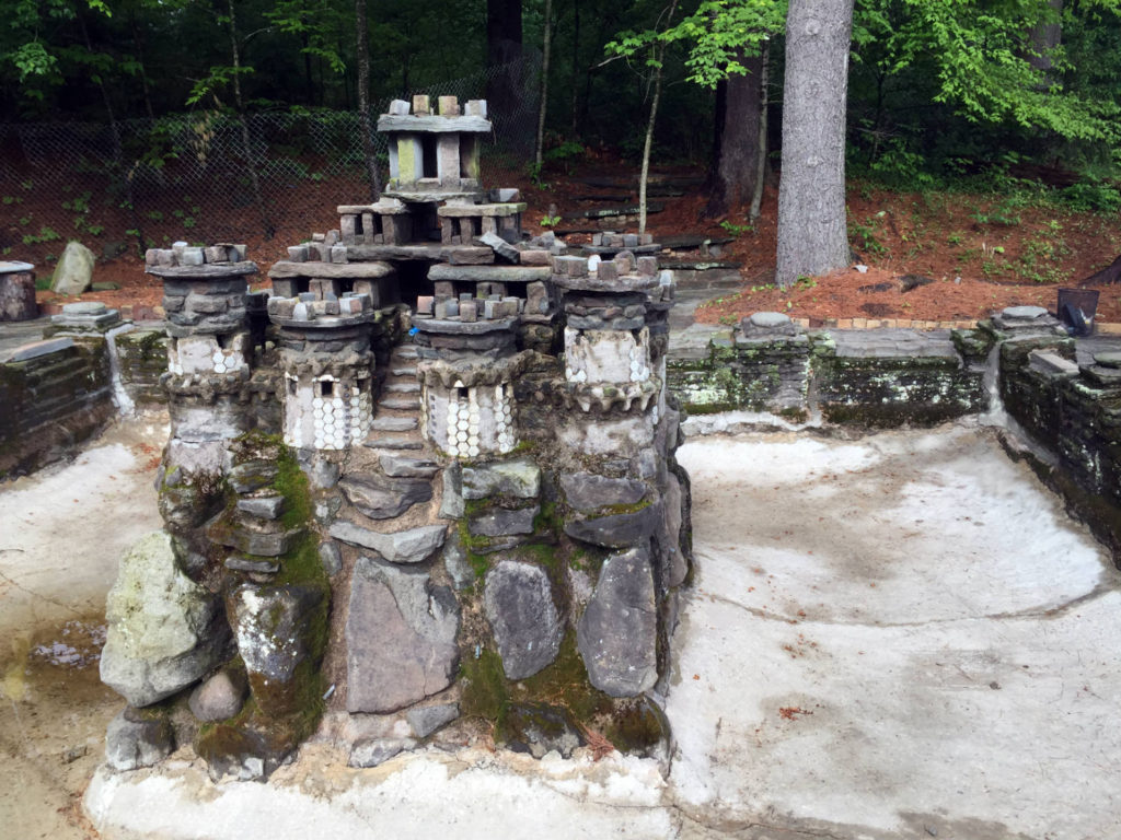 Joe Moshini's Stone Castle on Swan Lake in Sullivan County