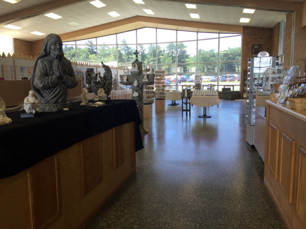 Gift Shop at the Shrine to the North American Martyrs in Auriesville, New York