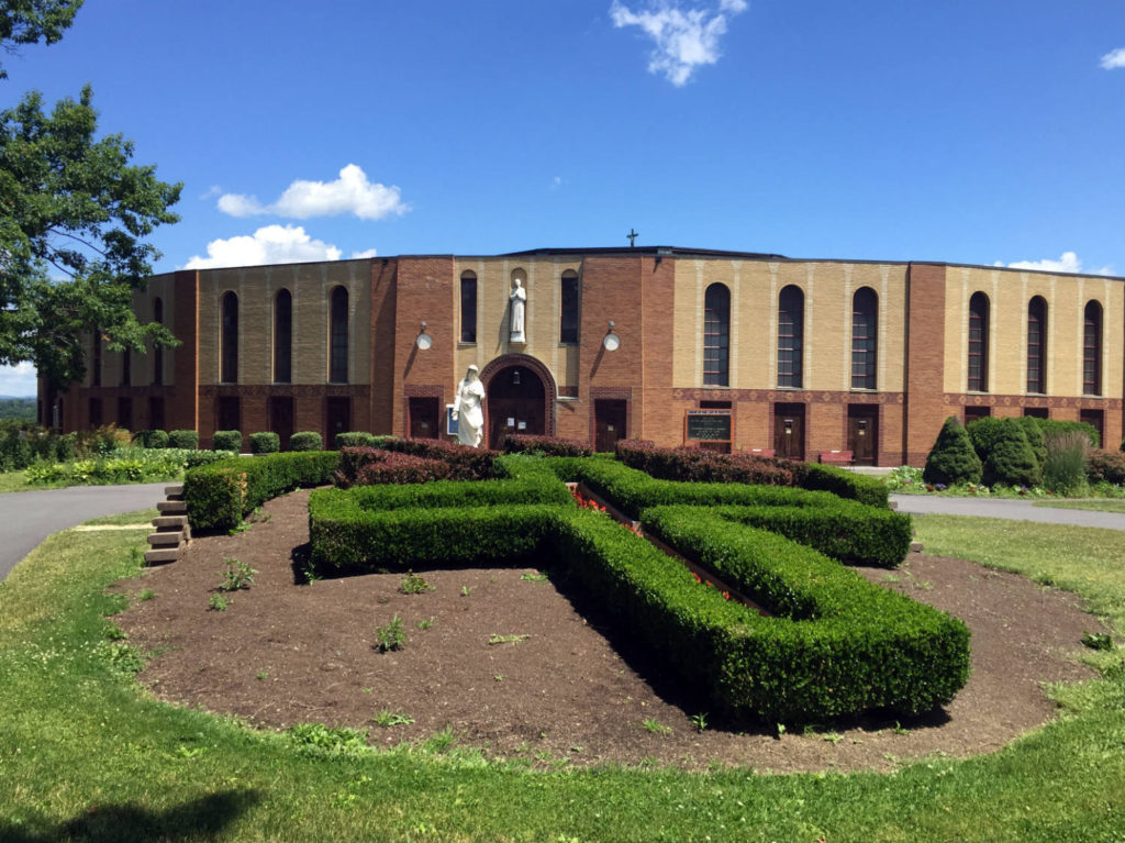 Coliseum at the Shrine to the North American Martyrs in Auriesville, New York