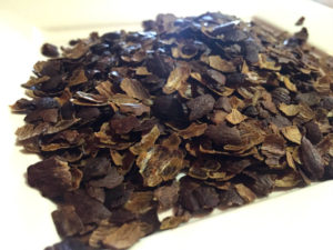 Dried Cascara Tea at Joe Bean Coffee Roasters in Rochester, New York