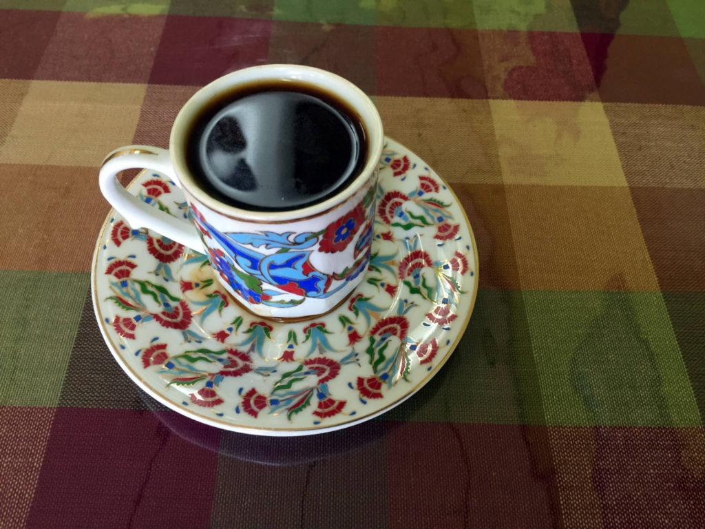 Turkish Coffee at As Evi Turkish Cuisine in Rochester, New York