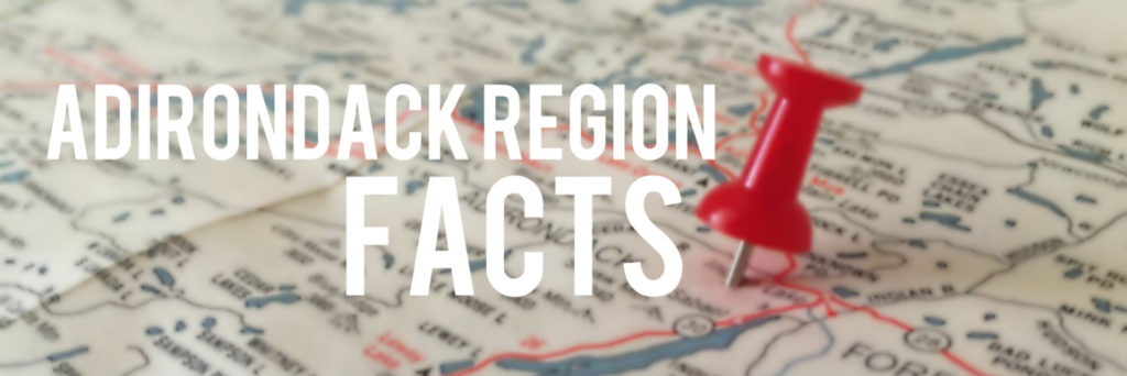 Adirondack Region Facts Banner