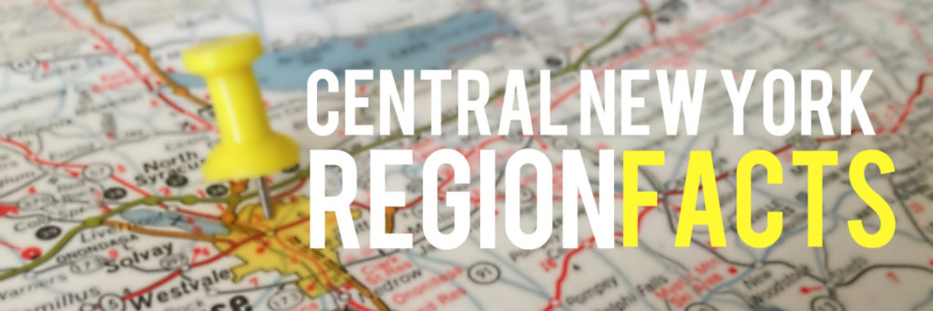 Central New York Region Facts - Banner
