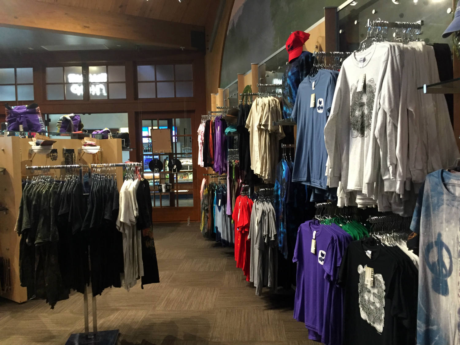 Gift Shop at the Woodstock Museum at Bethel Woods Performing Arts Center