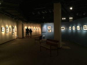 Exhibit at the Bethel Woods Center for the Arts