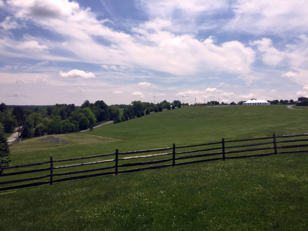 Site of Original Woodstock Festival Stage