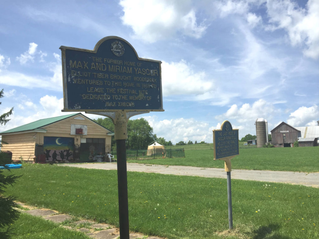 Original Homesite of Max Yasgur in Bethel, New York