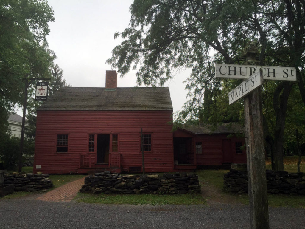 The Tavern in the Genesee Country Village and Museum in Mumford, NY
