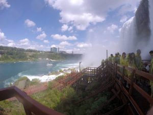 Maid of the Mist and Cave of the Winds at Niagara Falls