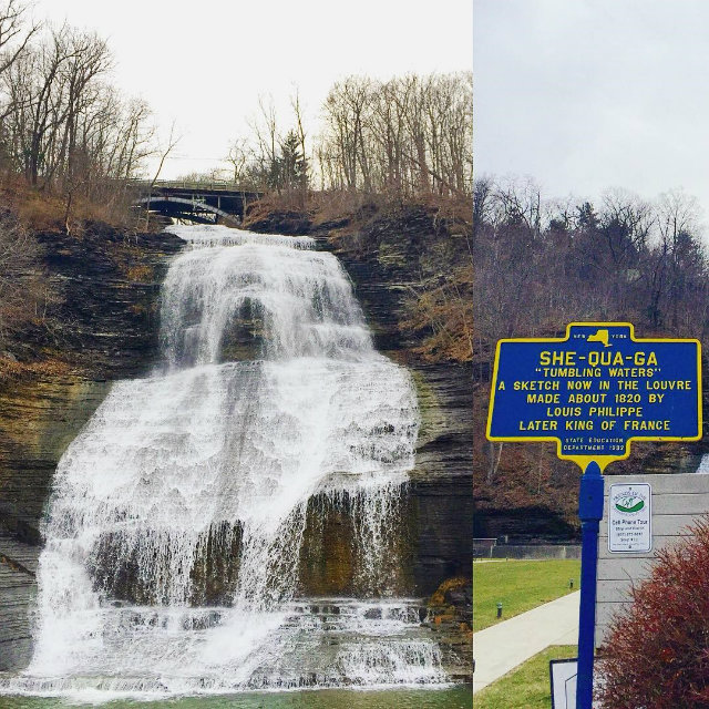 Montour Falls Historical Marker in Montour Falls, New York