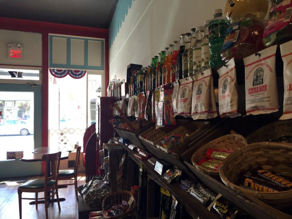 Candy Shop in Penn Yan, New York