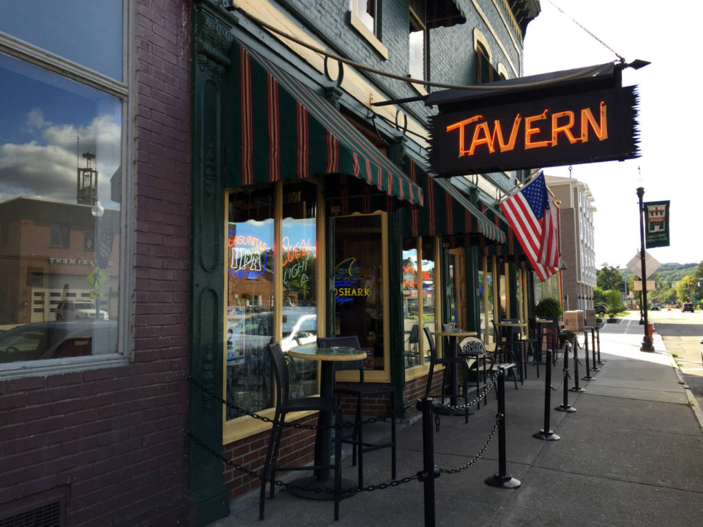 Tavern in Penn Yan, New York