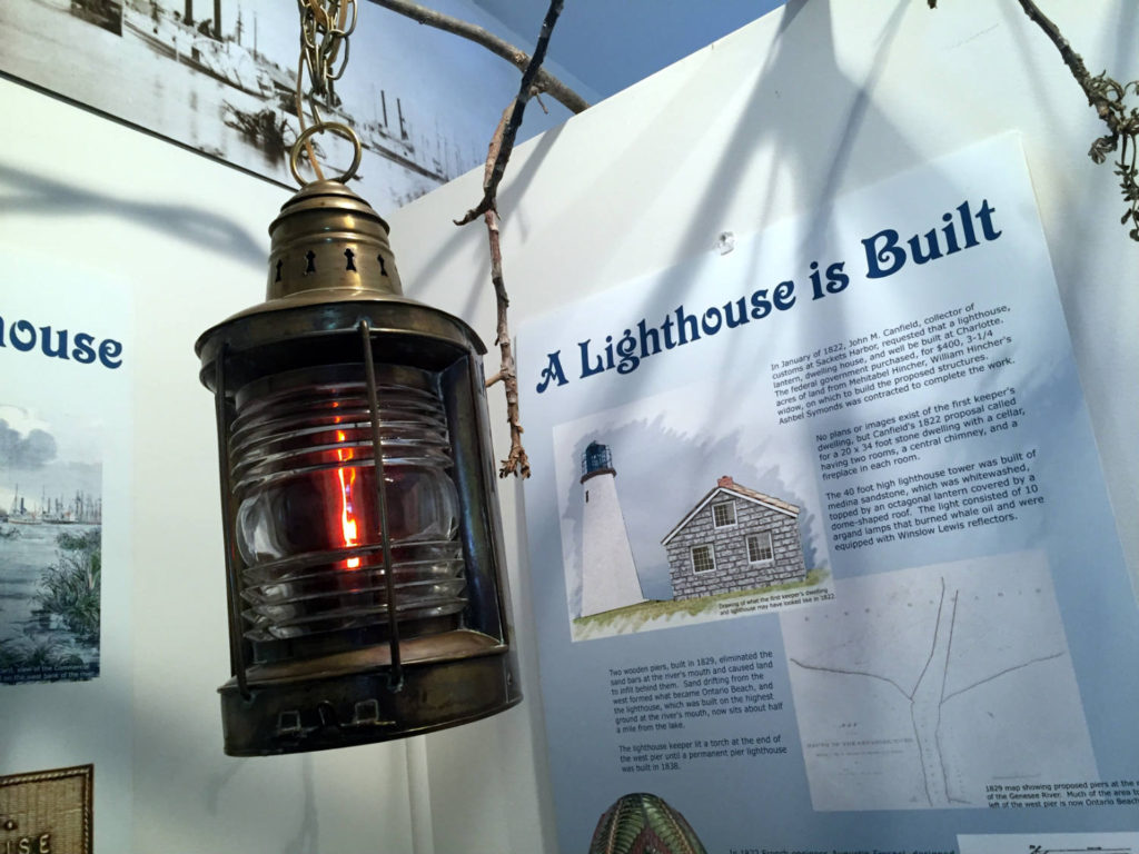 Lighthouse Historical Exhibit in Rochester, New York