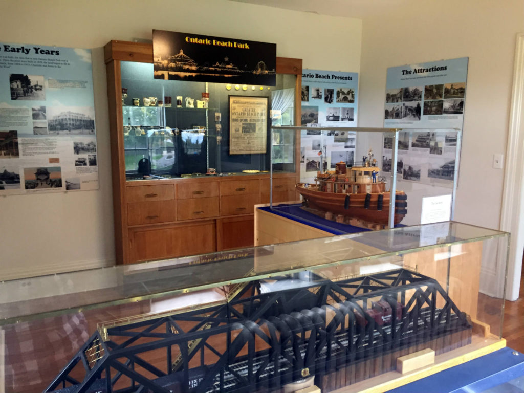 History Exhibit at the Charlotte-Genesee Lighthouse in Rochester, New York