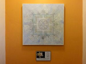 Mandala at the White Lotus Buddhist Center in Rochester, New York