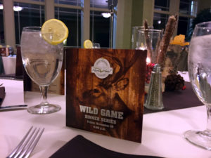 1000 Islands Harbor Hotel Wild Game Dinner in Clayton, New York