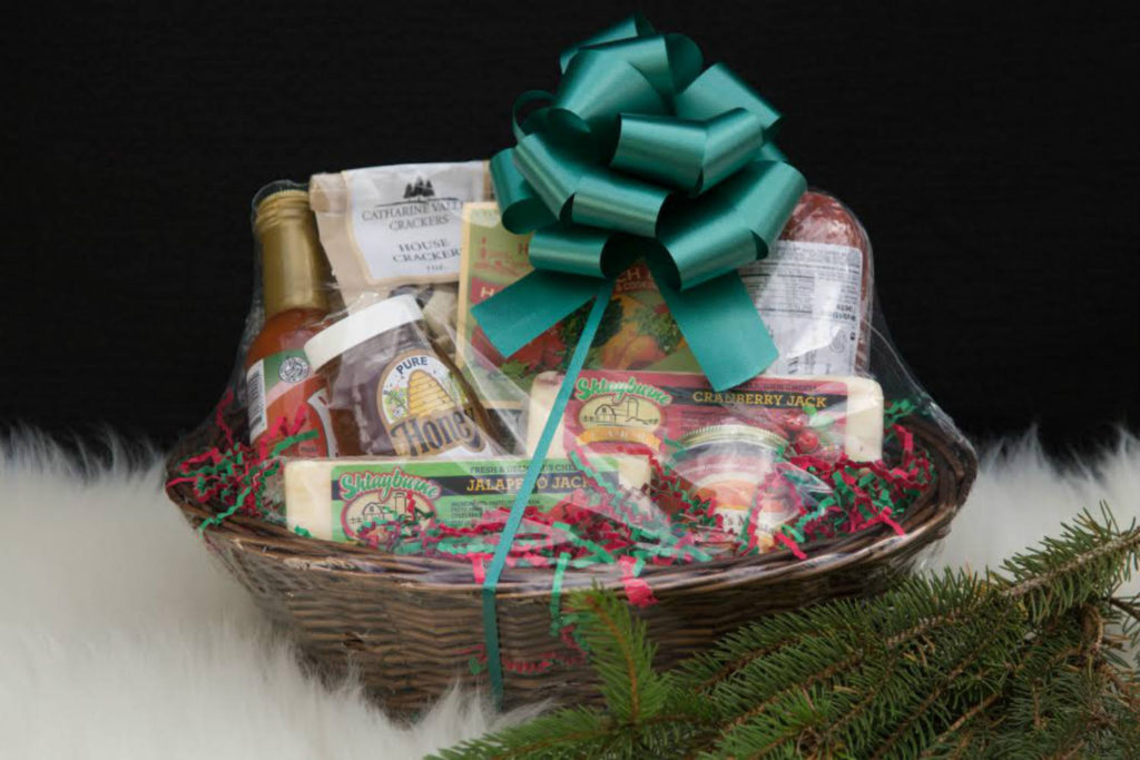 Shtayburne Farm Rock Stream Finger Lakes Gift Basket