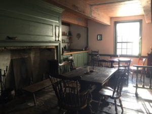 Inside the The 1747 Nellis Tavern in St. Johnsville, New York