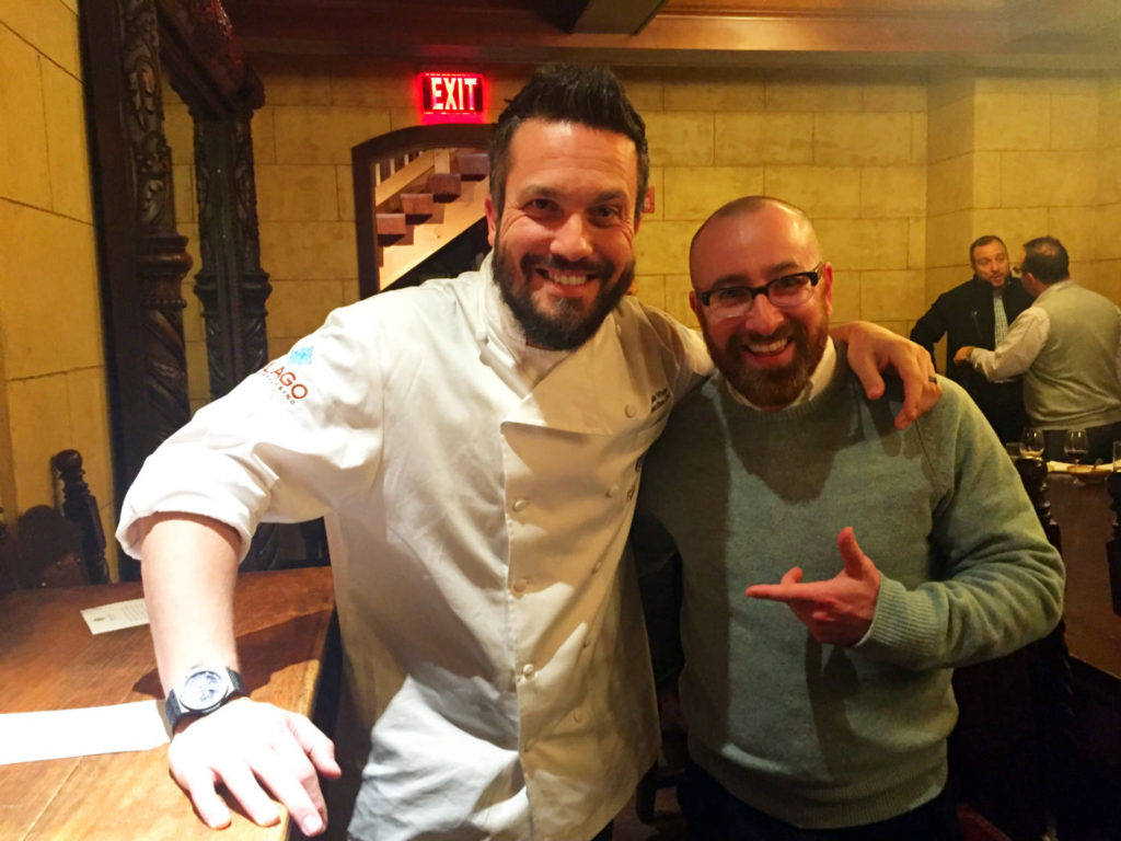 Chris Clemens and Fabio Viviani in Canandaigua, New York