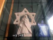 Star Menorah at Temple B'rith Kodesh in Rochester, New York