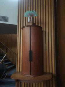 Inside Temple B'rith Kodesh in Brighton, New York