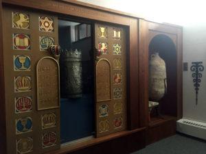 Museum Inside Temple B'rith Kodesh in Brighton, New York