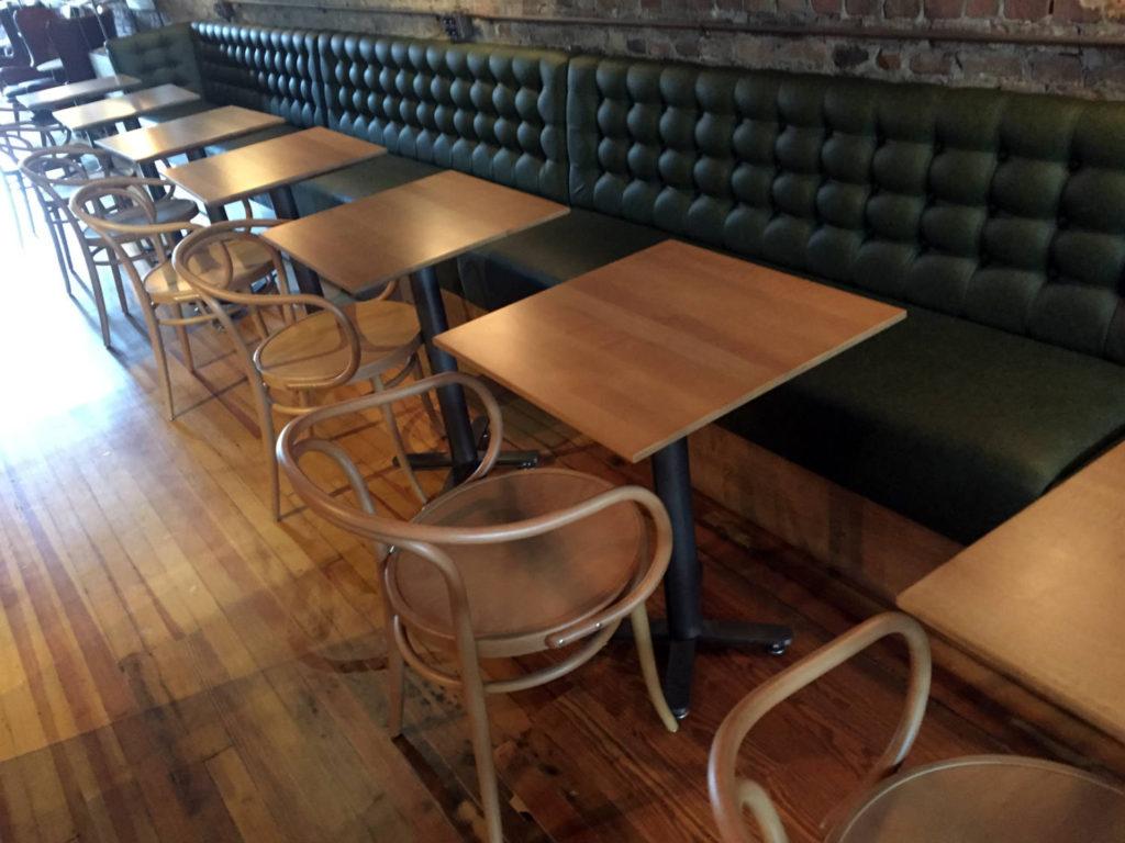 Inside Publick Coffee Bar in Penn Yan, New York