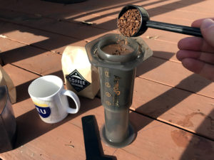 Fosterbuilt Coffee and AeroPress
