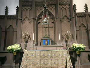 Side Altar at St. Paul's Episcopal Cathedral in Buffalo, New York