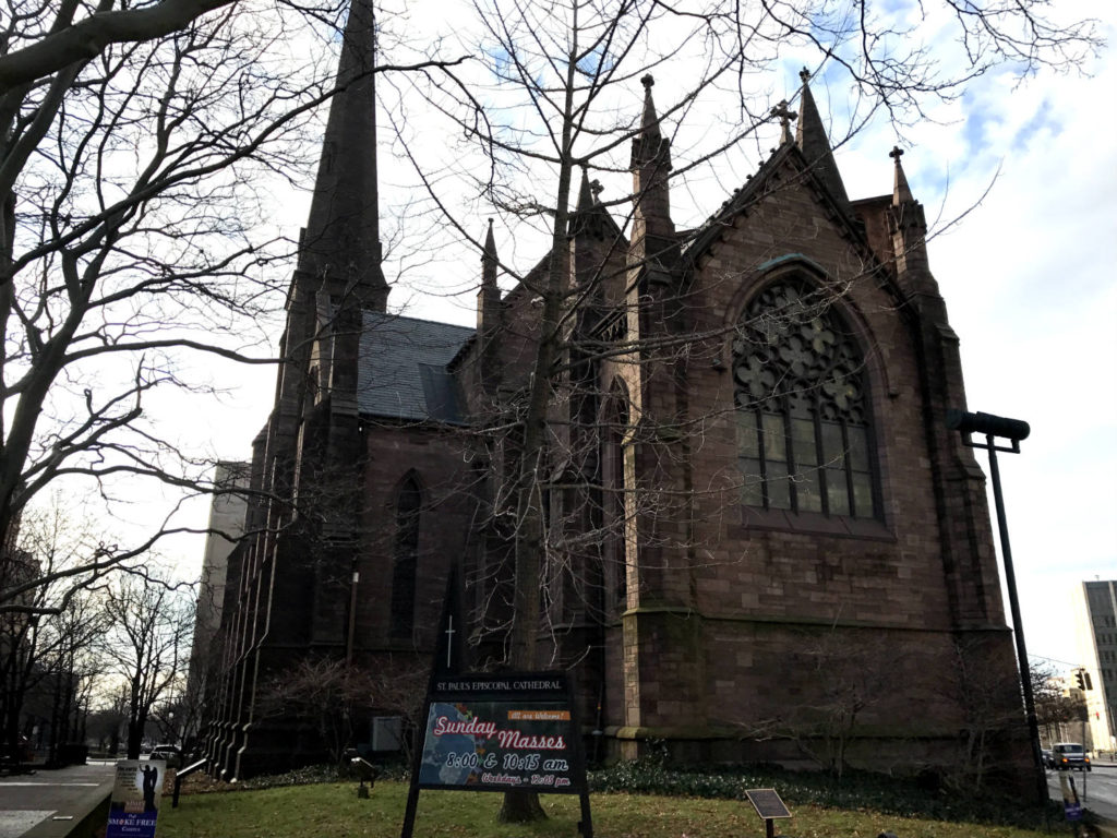 St. Paul's Episcopal Cathedral in Buffalo, New York