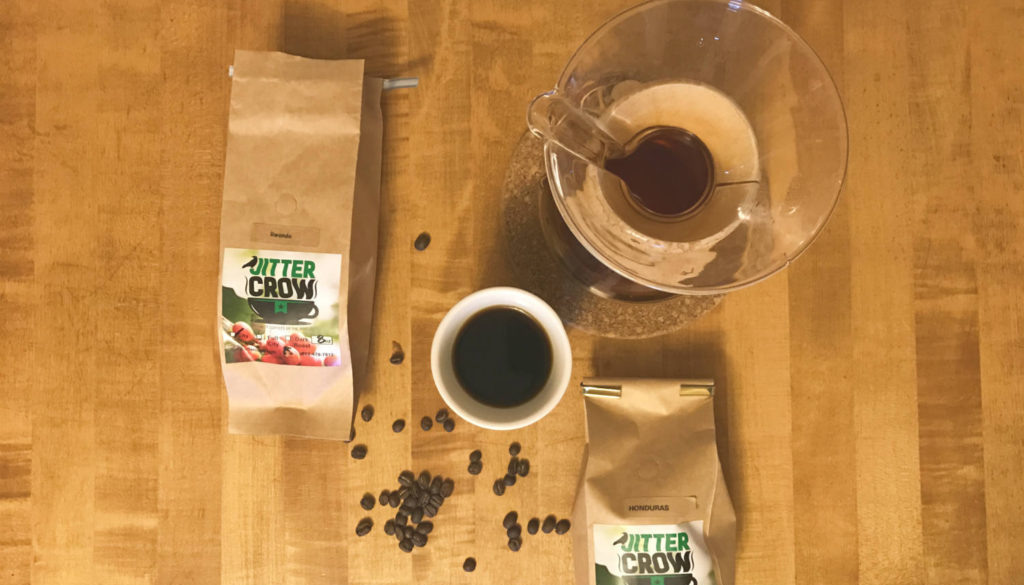 Jitter Crow Coffee - Featured Image