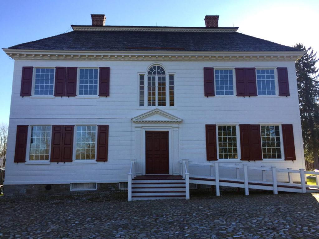 Johnson Hall Mansion in Johnstown, New York