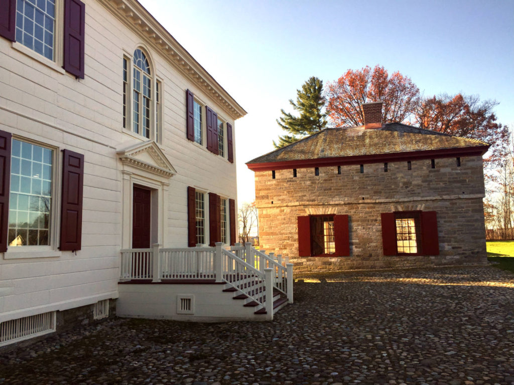 Johnson Hall State Historic Site in Johnstown, New York