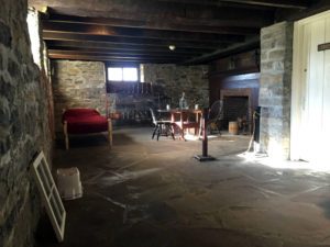 Servants Quarters in the Johnson Hall State Historic Site in Johnstown, New York