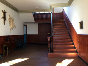 Staircase Inside the Johnson Hall State Historic Site in Johnstown, New York