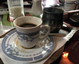 Bosnian Coffee at Ruznic Market in Utica, New York