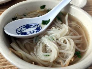 Pho at Pho Mekong Noodles in Utica, New York