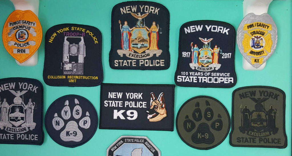 New York State Police Patches