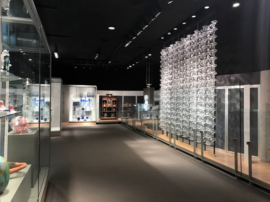 Contemporary Exhibit at the Corning Museum of Glass