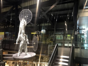 Gaffer Statues at the Corning Museum of Glass