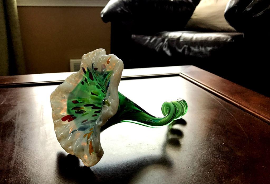 Chris Clemens Handmade Glass Flower