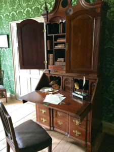 Philip Schuyler's Writing Desk in the Schuyler Mansion State Historic Site in Albany, New York