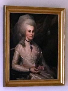 """Elizabeth """"Eliza"""" Hamilton by Ralph Earl 1787"""